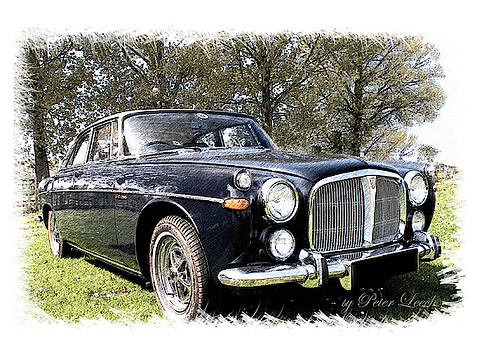 Rover 3.5 Coupe by Peter Leech