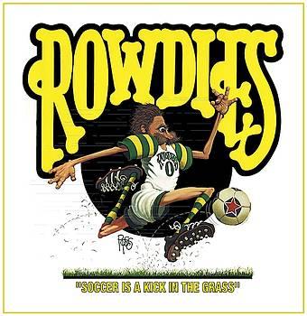 Rowdies Old School by Scott Ross