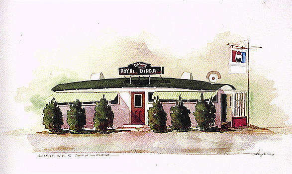 Royal Diner by William Renzulli