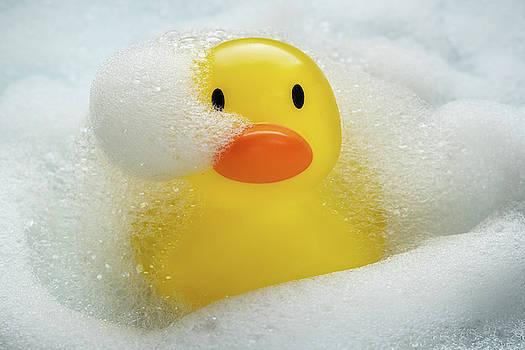 Rubber Duckie Bathtime by Steve Gadomski