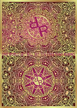 Rubino Mandala Seamless Pattern by Tony Rubino