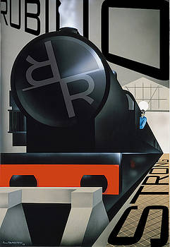 Rubino Vintage Original Train Strong by Tony Rubino