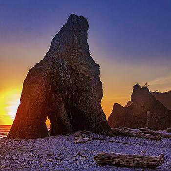 Mike Penney - Ruby Beach Sunset 12