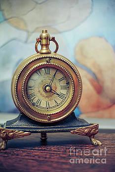 Rue Juliette vintage clock by Claudia M Photography