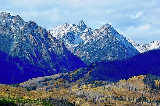 Rugged Peaks by Dan Miller