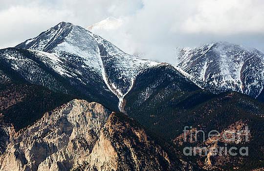 Rugged Peaks on the Sangre de Cristo by Steve Krull