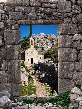 Ruins in Kotor, Montenegro by Rae Tucker