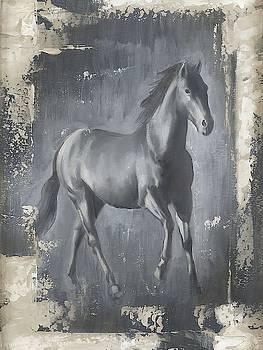 Running Stallion I Wall Art by Ethan Harper