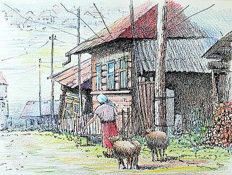 Rural life by Igal Kogan