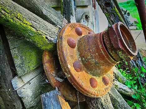 Rusted Hub by Tom Gresham