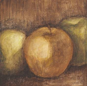 Rustic Apples I Wall Art by Ethan Harper