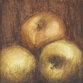 Rustic Apples II Wall Art by Ethan Harper