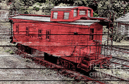 Rustic Caboose by Billy Knight