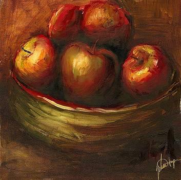Rustic Fruit III Wall Art by Ethan Harper