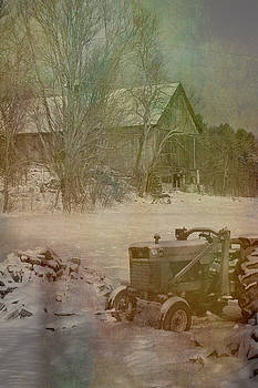 Rustic Vermont Farm Barn by Jeff Folger