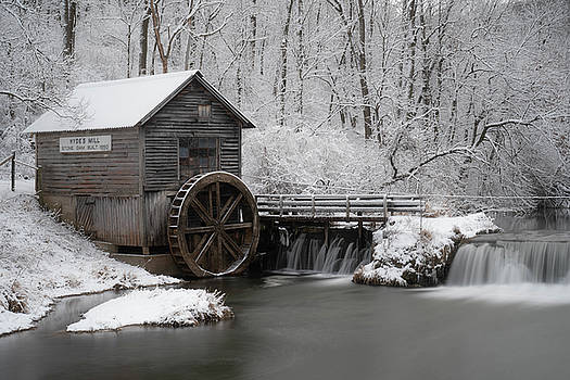 Rustic Winter Mill by Tailor Hartman