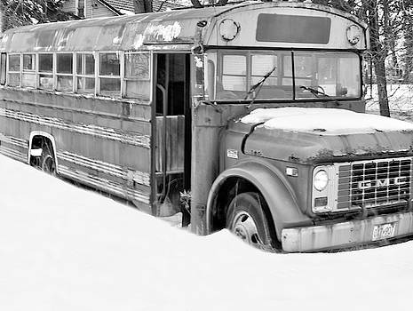Rusty and crusty school bus  by Nick Mares