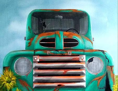 Rusty Ford by Danett Britt