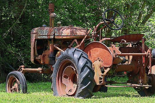 Connie Fox - Rusty Old Farm Tractor