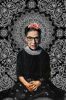 Ruth Bader Ginsburg Frida by Tony Rubino
