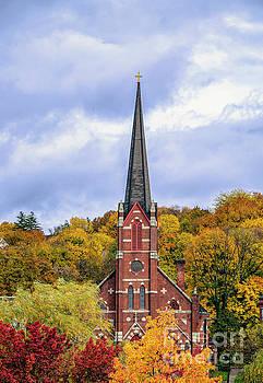 Sacred Heart Church by Linda Troski