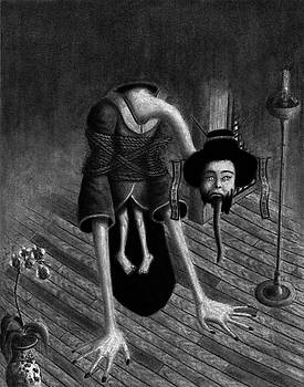 Sacrificed Concubine Ghost - Artwork by Ryan Nieves