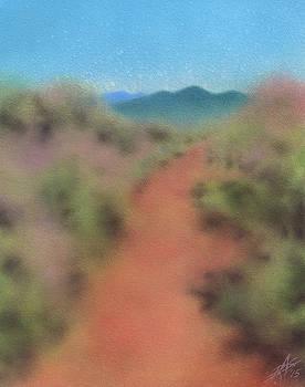 Robin Street-Morris - Chaparral Path to Black Mountain II