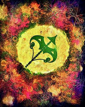 Sagittarius Zodiac Sign by Carol Stanley