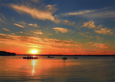 Sail into the Sunset by Sharon Batdorf