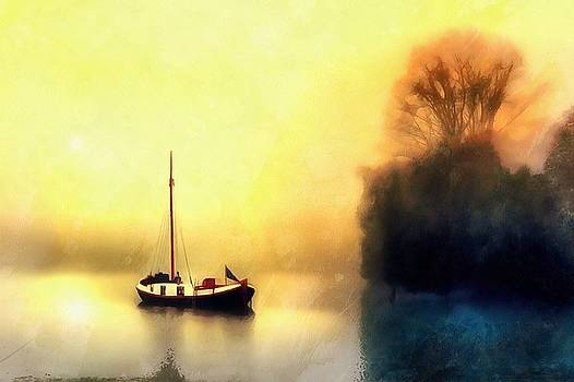 Sailboat Day by Harry Warrick