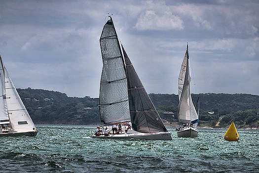 Sailboat race by Mark Langford
