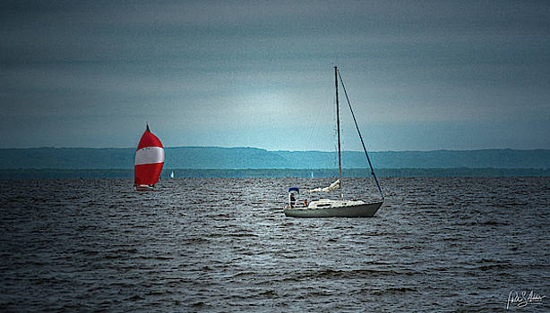 Sailing 1 by Phil S Addis