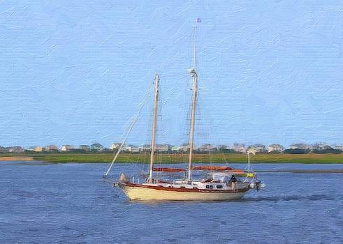 Sailing At Southport by Cathy Lindsey