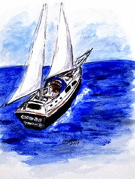 Sailing Away by Clyde J Kell
