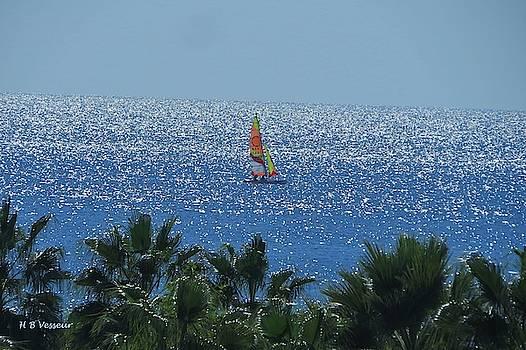 Sailing by B Vesseur