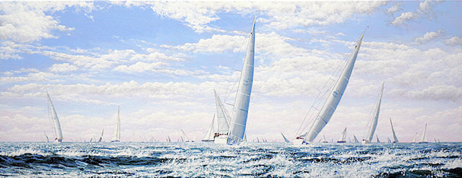 Sailing in Fair Weather by Mark Woollacott