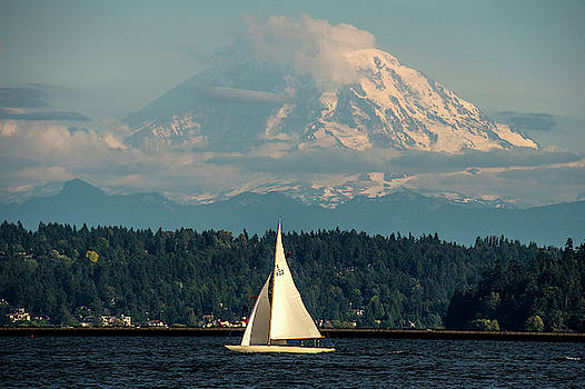 Sailing On Lake Washington by Matt McDonald