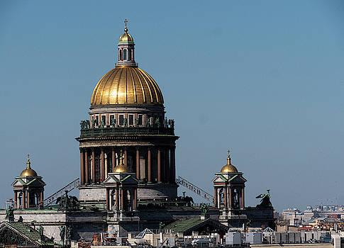 Saint Isaac's Cathedral or Isaakievskiy Sobor  by Tamara Sushko
