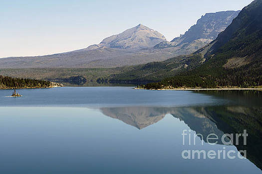 Saint Mary Lake Reflections by Catherine Sherman