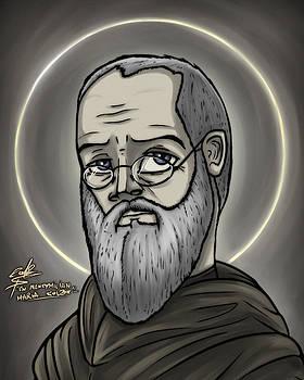 Saint Maximilian Mary Kolbe by Slawomiro