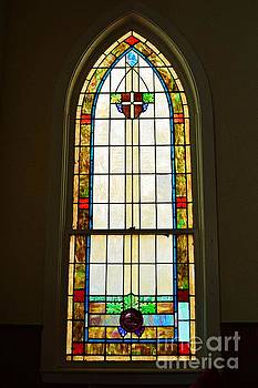 Saint Paul AME Stained Glass by Linda Covino