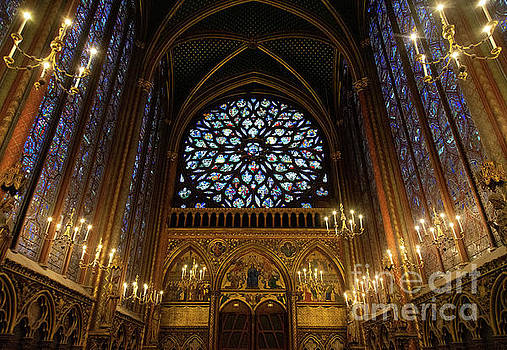 Wayne Moran - Sainte Chapelle Paris France Stained Glass