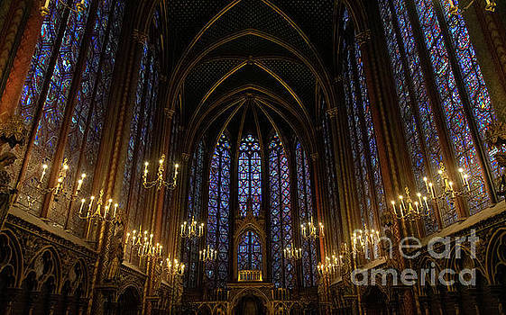 Wayne Moran - Sainte Chapelle Paris France