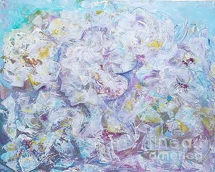 Sakura blossoms by Olga Malamud-Pavlovich