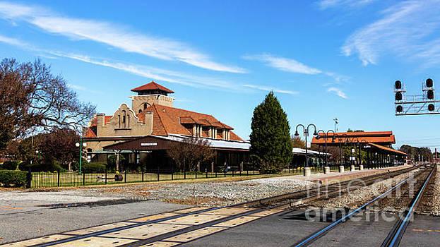 Salisbury Train Station by Terri Morris