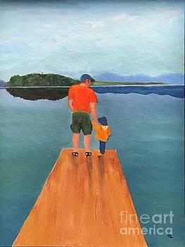 Sam and Alder by Glenda Zuckerman