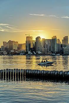 Robert VanDerWal - San Diego Bay Sunrise
