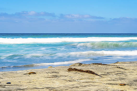 San Diego Beach by Debbie Ann Powell