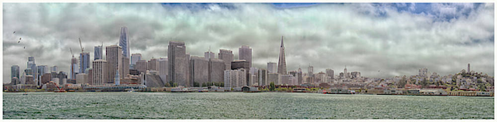San Fran Panorama in full color by Debby Richards