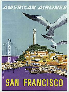 San Francisco American Airlines by Unknown